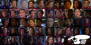 Riker Chair An Appreciative Gallery Of Voyager U0027s Captain Janeway Looking Shocked
