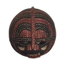 moon mask ivory coast baluba moon mask chairish