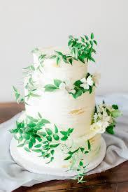 wedding cake greenery organic greenery wedding inspiration grace