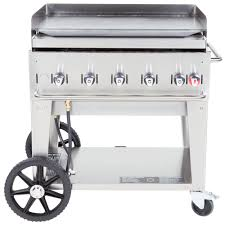 propane griddle crown verity mg 48 liquid propane 48 portable