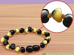 jewelry amber necklace images How to buy an amber teething necklace with pictures wikihow jpg