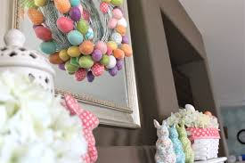 Easter Decorations For Mantel by Graceful Fireplace Wooden Mantel For Easter Design Ideas Present