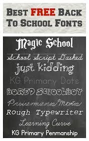 best free back to fonts u2013 pinlavie com