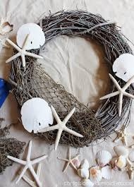 pottery barn inspired shell wreath confessions of a serial do it