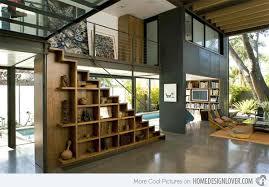 15 ideas for space saving under staircase shelves home design lover