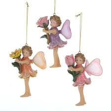 buy pack of 12 princess garden assorted fairies on branch