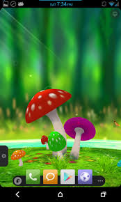 wallpaper 3d mushroom lwp no root zte 3d mushroom live wallpape android development