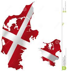 denmark flag royalty free stock photography image 6265057