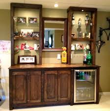 Floating Bar Cabinet Glass Bar Shelves Charming Wooden Home Bar Cabinet Designs With
