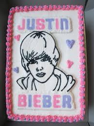 justin bieber birthday cake cakecentral com