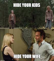Carol Twd Meme - image tagged in twd carol and rick the walking dead imgflip