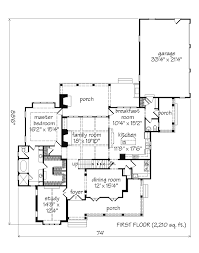 southern living floor plans 3 257 sq ft shook hill l mitchell ginn associates