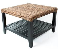Seagrass Bench Setting Of Seagrass Coffee Table