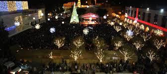 prayers as lights go on in bethlehem