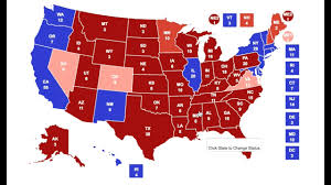 Map Election by My 2020 Electoral Map Prediction Youtube