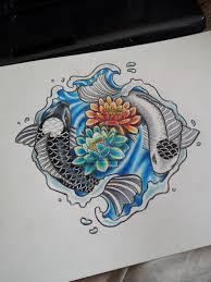 koi fish tattoos cool designs ideas their meaning