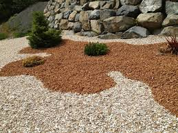 Colored Rocks For Garden Colored Landscaping Rocks Gardening Design