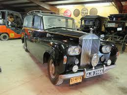 classic rolls royce wraith lot 12l u2013 1948 rolls royce silver wraith hearse vanderbrink auctions
