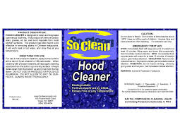 kitchen exhaust cleaners soclean supply