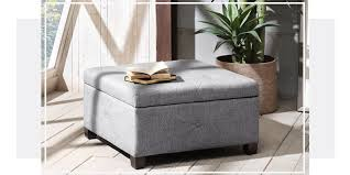 Safavieh Amelia Tufted Storage Ottoman 10 Best Storage Ottomans In 2017 Reviews Of Stylish Storage