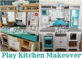Play Kitchen From Old Furniture by Best 25 Pink Play Kitchen Ideas On Pinterest Pink Diy Kitchens