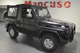 mercedes g wagon convertible for sale mercedes g class convertible 1987 black for sale
