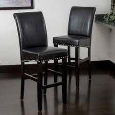 Brown Leather Bar Stool Leather Bar U0026 Counter Stools Shop The Best Deals For Nov 2017
