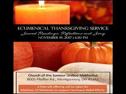 ecumenical thanksgiving service montgomery assembly of god