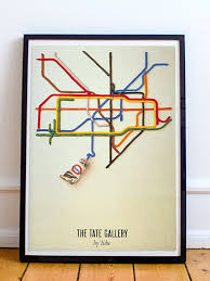 Chelsea Gallery Map London Vintage And Retro Posters London Transport Museum Shop