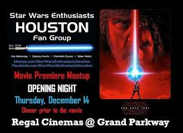 opening night fan event star wars the last jedi sweh opening night movie premiere meetup for the last jedi dec 14