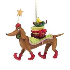 dachshund ornaments collection on ebay