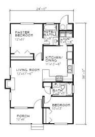 2 Bed 2 Bath House Plans Cottage Style House Plan 2 Beds 2 Baths 838 Sq Ft Plan 515 18
