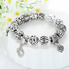 heart pendant bracelet images Bamoer 925s silver charm bracelet wi end 3 23 2018 3 15 pm jpg