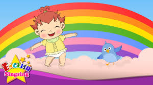 i can sing a rainbow rainbow song color song nursery rhymes