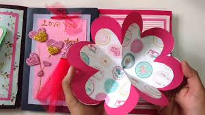diy scrapbook album diy scrapbook album for s day tutorial how to