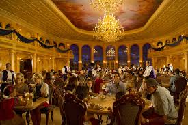 Be Our Guest Dining Rooms Disney Will Accept Lunch Reservations For Be Our Guest Orlando