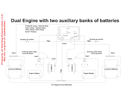 rv battery isolator wiring diagram camper at boat switch