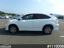 lexus rx toyota harrier used toyota harrier from japan car exporter 1110008 giveucar
