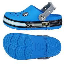 star wars crocs light up crocs lights up star wars jedi kids clogs summer water shoes blue