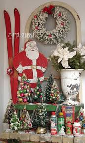 Vintage Christmas Lawn Decorations by Best 25 Midcentury Holiday Decorations Ideas On Pinterest