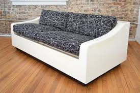 mid century modern sleeper sofa by ed frank for moretti