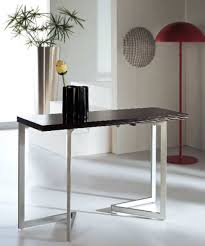 desk dining table convertible console transforms to table murphysofa