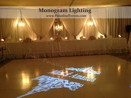 wedding backdrop rental vancouver 31 best gobo light monogram light images on wedding