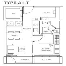 Singapore Floor Plan The Rise Oxley Residences
