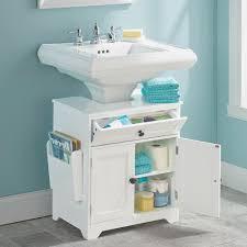 pedestal sink storage weatherby bathroom pedestal sink storage cabinet improvements