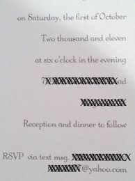 weddings what knot to do text tacky to rsvp to this wedding
