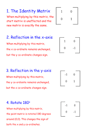 the 8 matrix transformations by k1006523 teaching resources tes