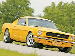 1965 yellow mustang 1965 ford mustang mustang fast fords magazine