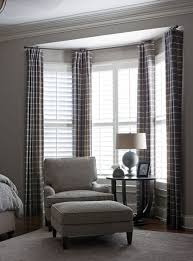 Window Curtains Bedroom Bay Window Curtains I D Like To Hang Maroon Sheers In My