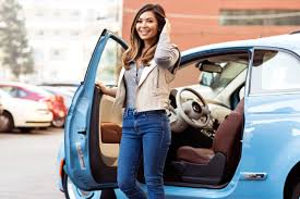 Young Vanity Marianna Hewitt Fiat 500 Vanity Fair Campaign Hollywood Young